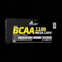BCAA 1100 Mega Caps 120caps